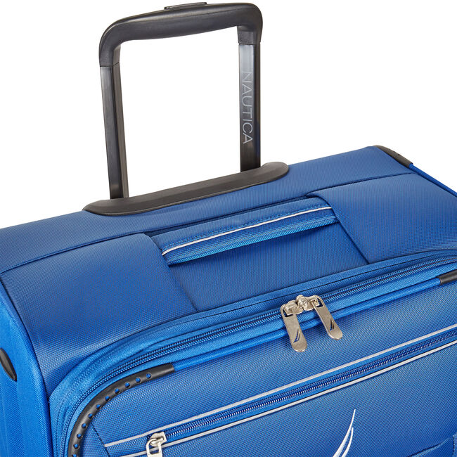 """Washboard 28"""" Expandable Spinner Luggage,Bright Cobalt,large"""