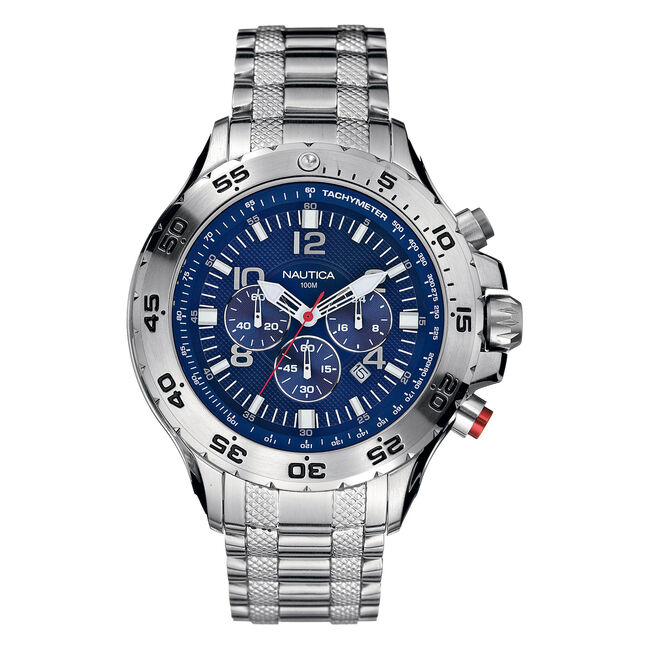 NST Chronograph Watch,Multi,large
