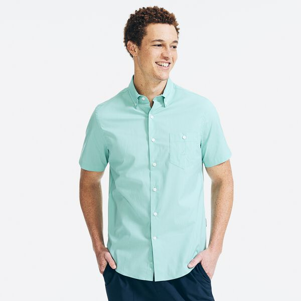 NAVTECH SHORT SLEEVE SHIRT - Wave Green