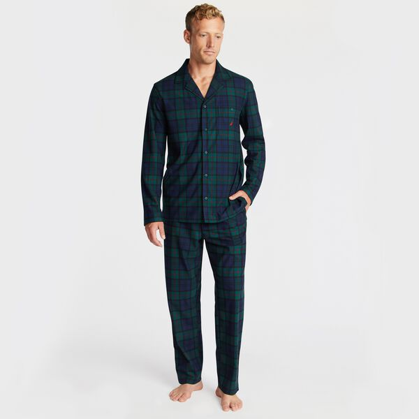 PLAID PAJAMA SET - Kelp Seas