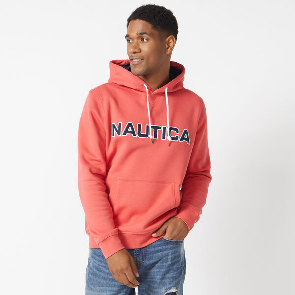 PULLOVER LOGO HOODIE - Sailor Red