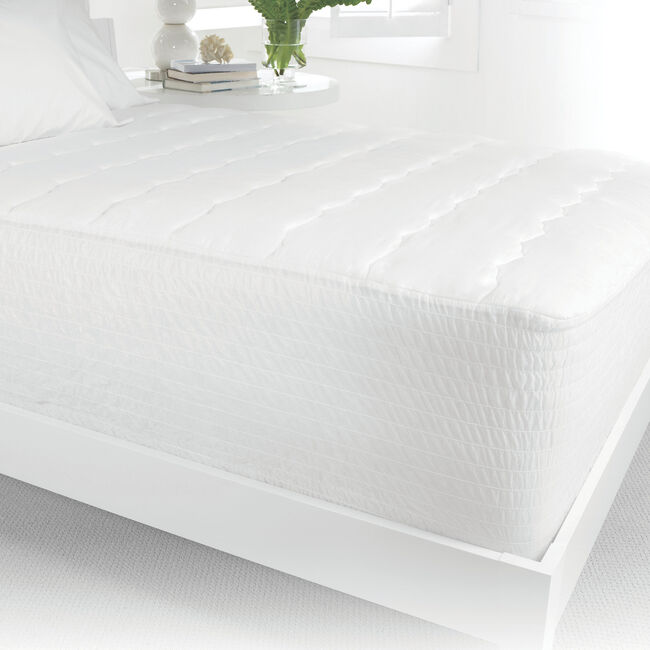 Hypoallergenic Mattress Cover, Queen,Bright White,large