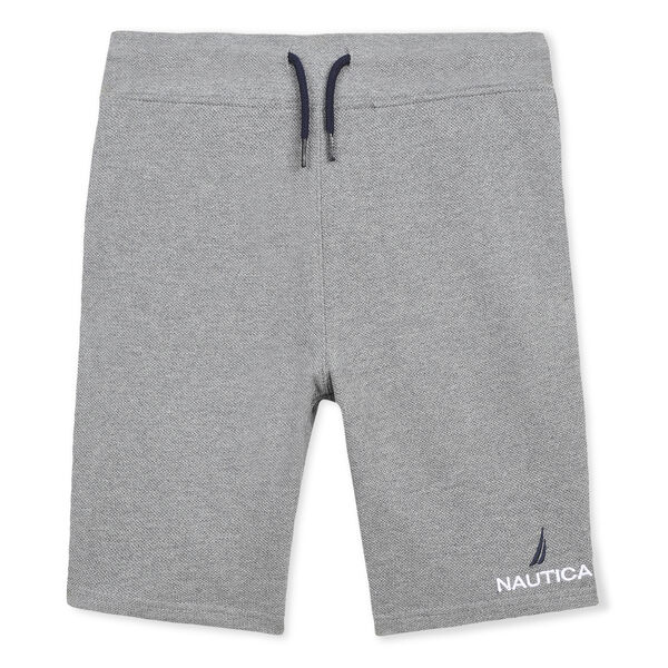 BOYS' JAMES PULL-ON ACTIVE SHORT - Grey Heather