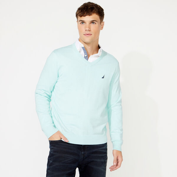 NAVTECH V-NECK SWEATER - Aquabreeze