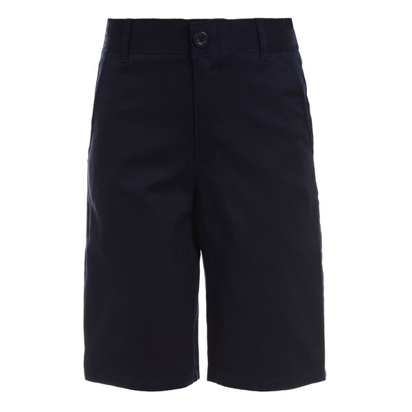Boys' Flat Front Twill Shorts (8-20) - Workshirt