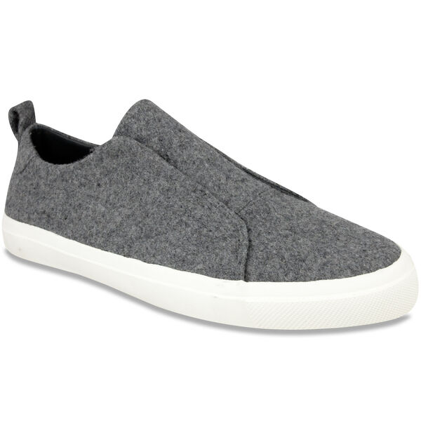 Daly Slip-On Sneakers - Black Wool - Black