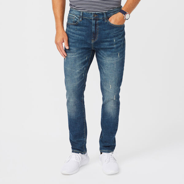 NAUTICA JEANS CO. SLIM FIT DENIM - Deep Blue Violet
