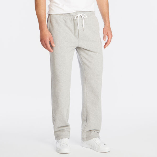 SIGNATURE FLEECE SWEATPANTS - Grey Heather