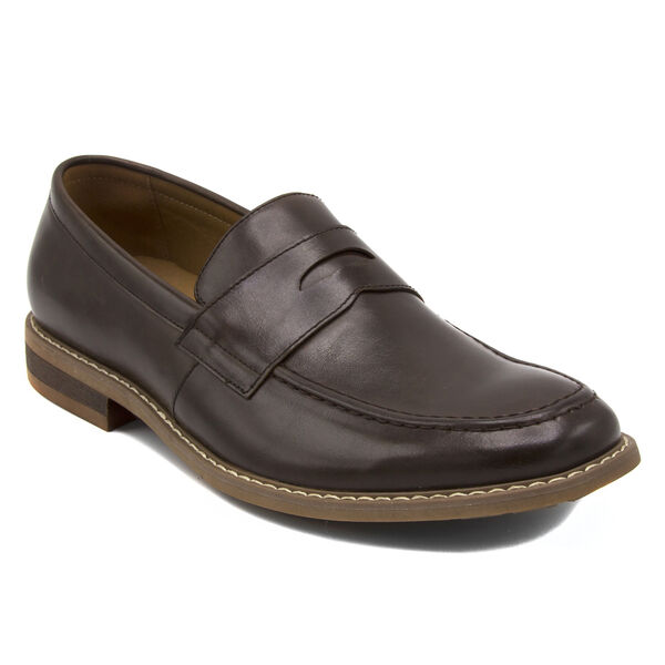 Elias Loafer in Smooth Chocolate - Chocolate
