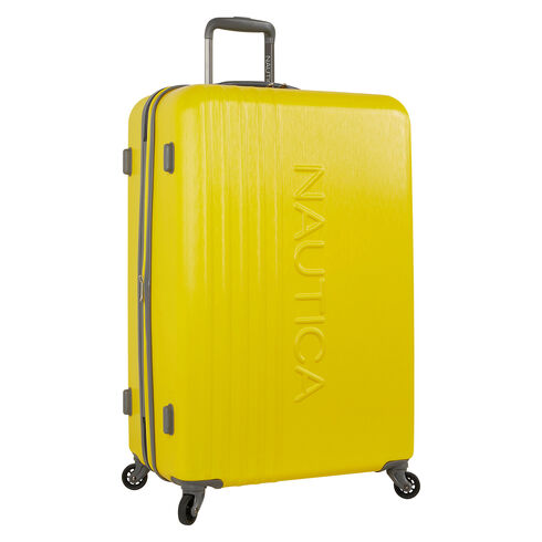 "Lifeboat 28"" Expandable Spinner Luggage - Yellow"