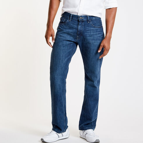 Pure Deep Sea Wash Relaxed Fit Jeans - Washed Blue