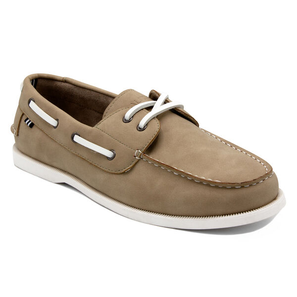 Nueltin 2 Boat Shoe in Beige - Beige Heather