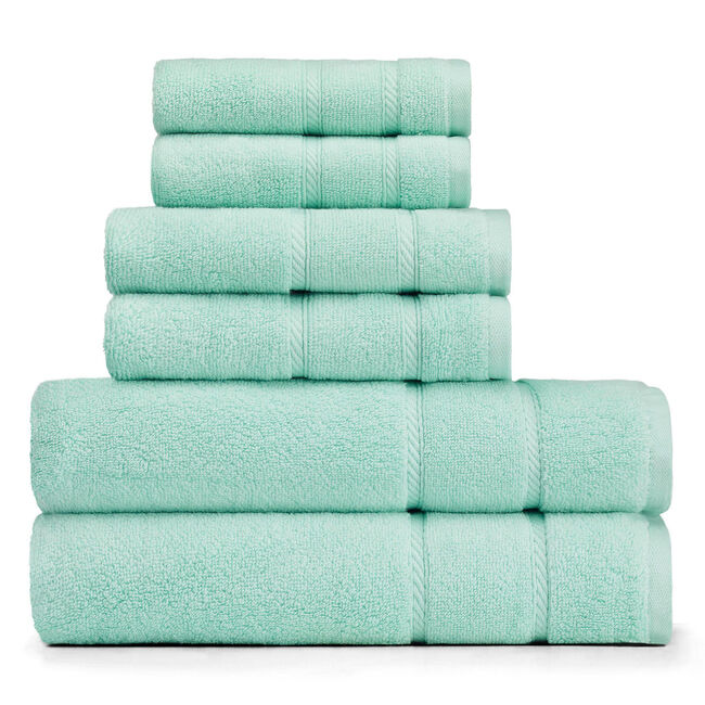 Belle Haven Towel Set,Sapphire/Pitch Yellow,large