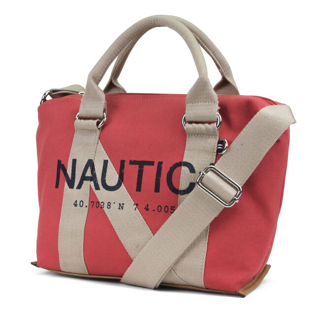 Brigadiere Shopper - Coral,Flare Red,large
