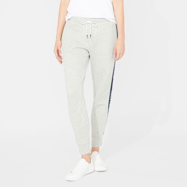Nautica Heritage 1983 Fleece Joggers - Grey Heather