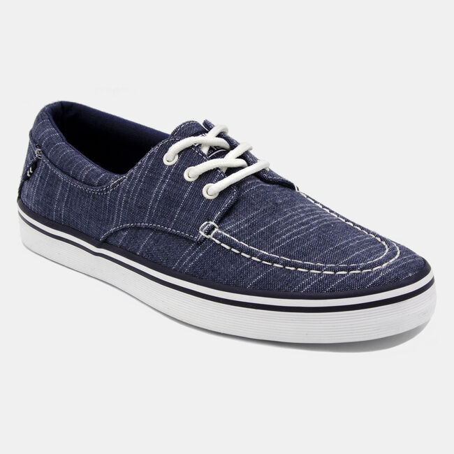 Ablemarle Canvas Sneaker in Navy ,Navy,large