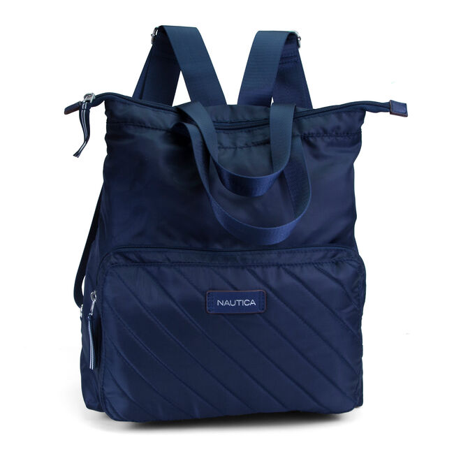 New Tack Packable Backpack - Navy,Navy,large