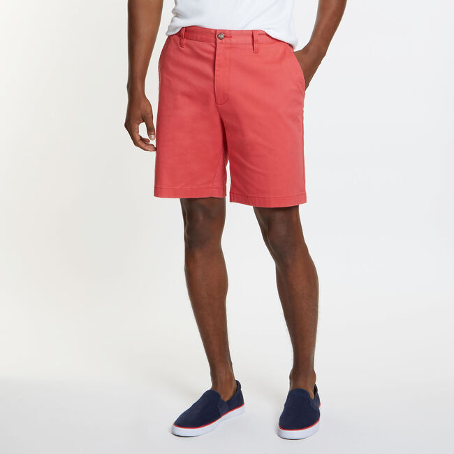 Big & Tall Classic Fit Deck Shorts,Sailor Red,large