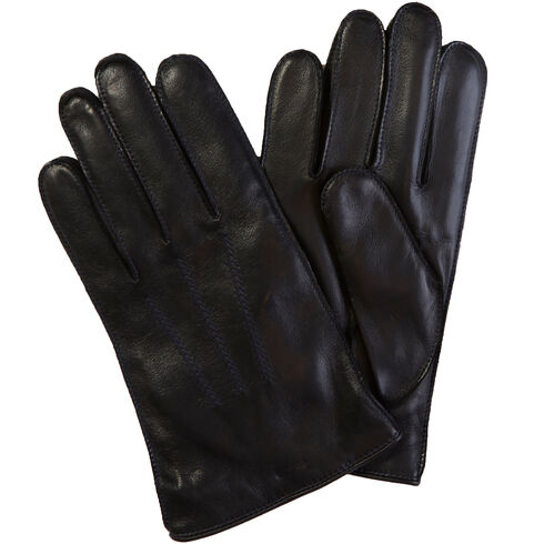 HOLIDAY LEATHER GLOVE - Brown Stone
