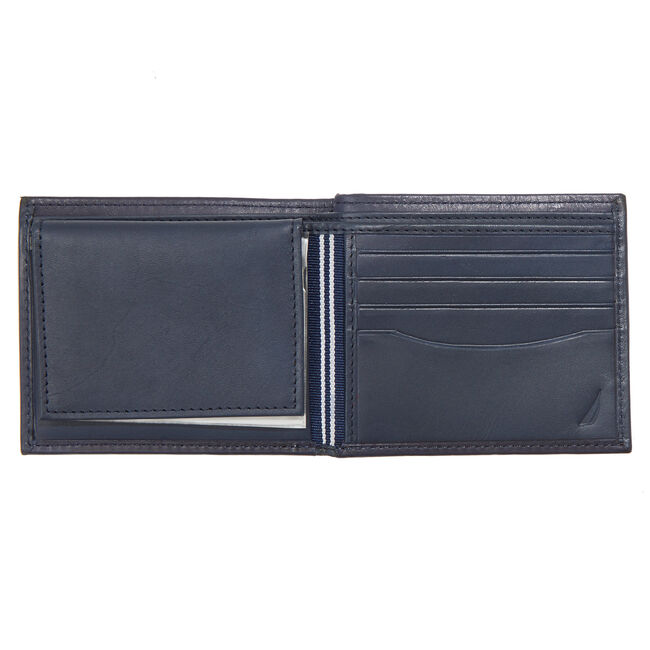 Bulkhead Passcase Wallet,Pure Dark Pacific Wash,large
