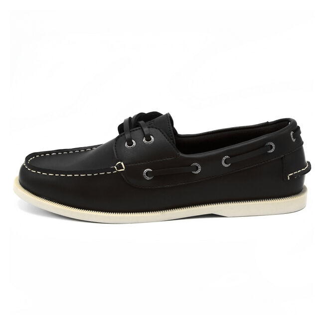 Nueltin Boat Shoes,True Black,large