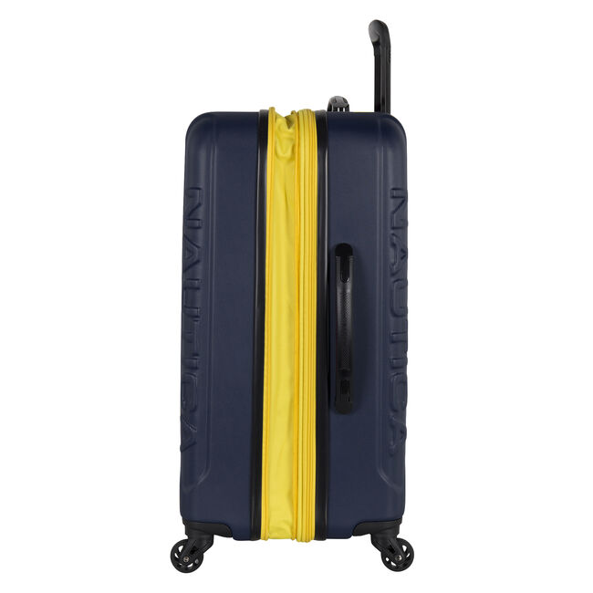 """Vernon Bay 20"""" Hardside Spinner Luggage in Navy/Yellow,Pure Dark Pacific Wash,large"""