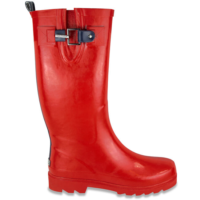 Finburst Rain Boots,Reckoning Red,large
