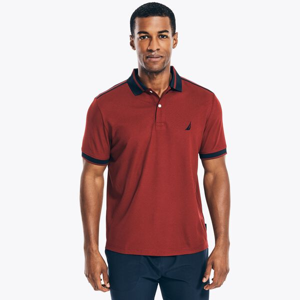 NAVTECH SUSTAINABLY CRAFTED CLASSIC FIT POLO - Flamingo