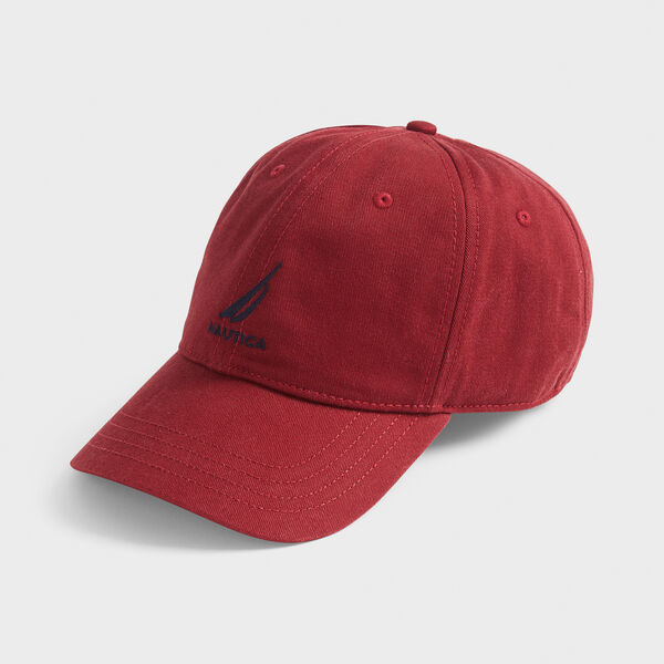 J-CLASS EMBROIDERED CAP - Lotus