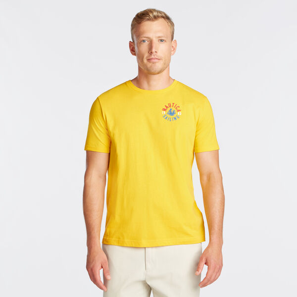 NS-83 CREST GRAPHIC TEE - Lemon Chrome