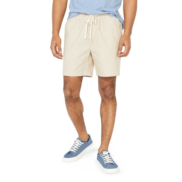 "7"" CLASSIC FIT PULL-ON SHORT - Military Tan"