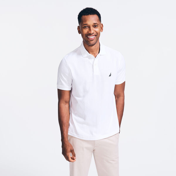 CLASSIC FIT DECK POLO - Bright White