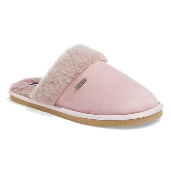 SOMERSBY SUEDE SLIPPERS IN MAUVE - Majestic Purple