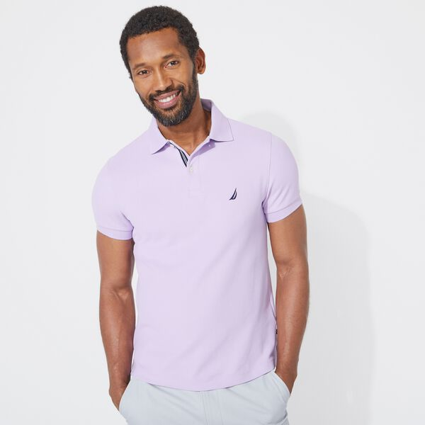 SLIM FIT DECK POLO - Lavendula
