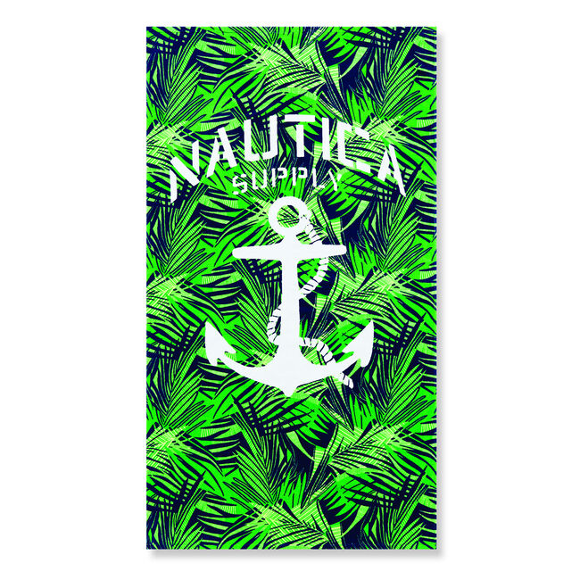 ANCHOR & PALM BEACH TOWEL,Pure Dark Pacific Wash,large