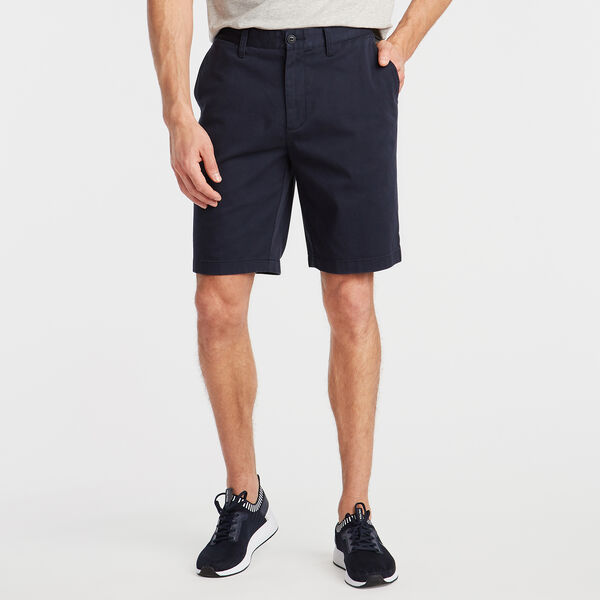 "10"" CLASSIC FIT DECK SHORTS WITH STRETCH - True Navy"