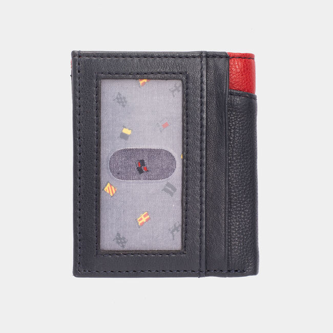 WILDER LEATHER DUOFOLD WALLET,Brown Stone,large