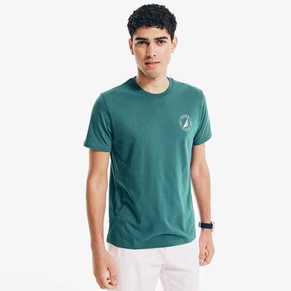 SURF GRAPHIC T-SHIRT - Shaded Spruce