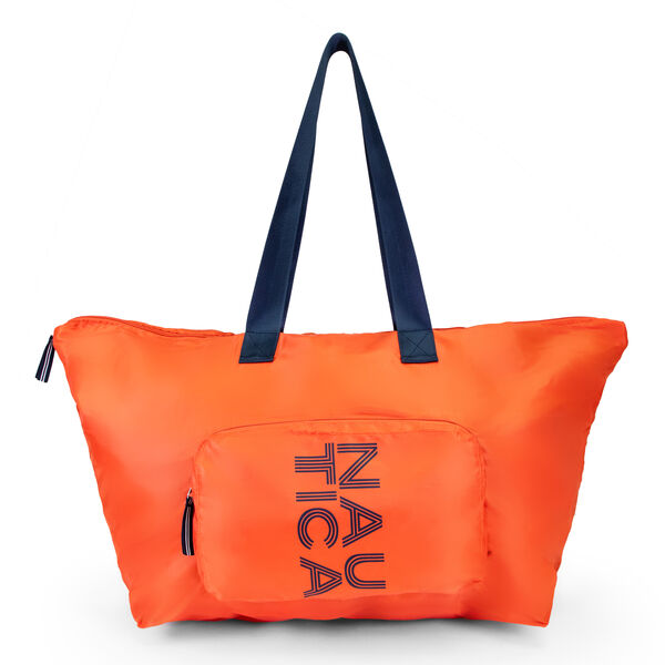 NEW TACK PACKABLE TOTE BAG - Orange