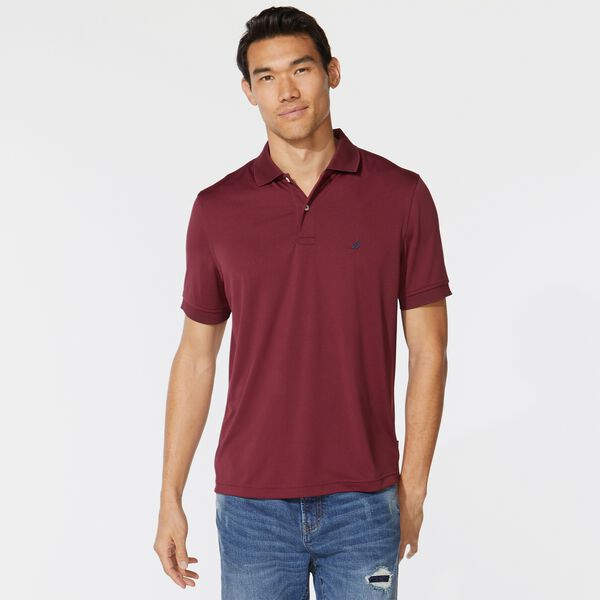 CLASSIC FIT PERFORMANCE GOLF POLO - Zinfandel