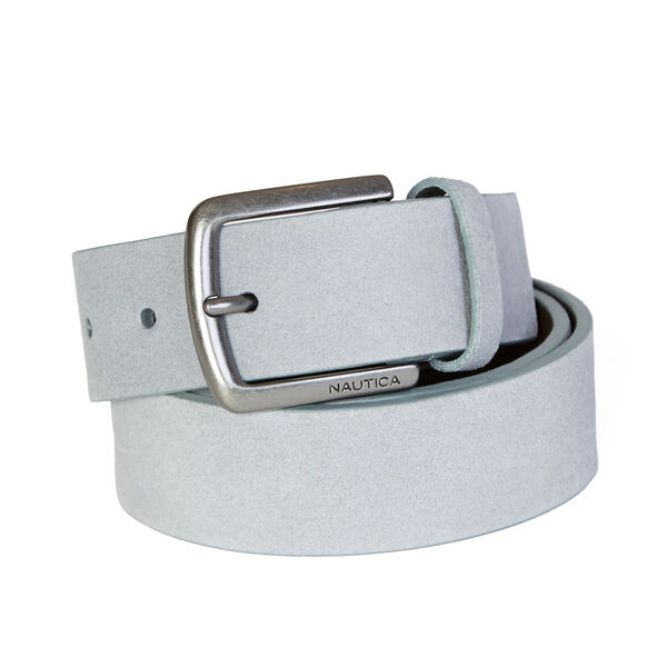 Suede Belt - Black Onyx