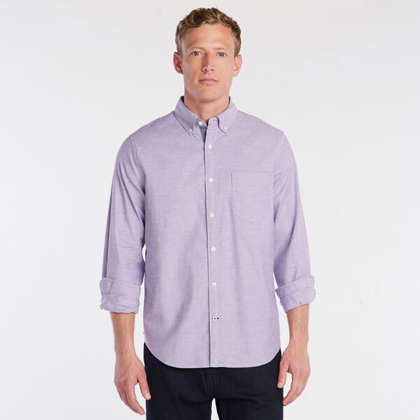 SOLID OXFORD SHIRT - Majestic Purple