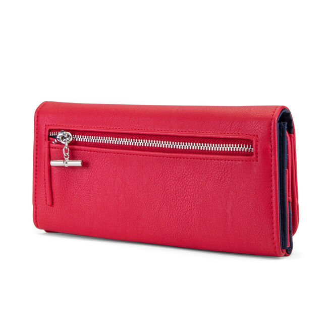 Above Board Money Manager,Nautica Red,large