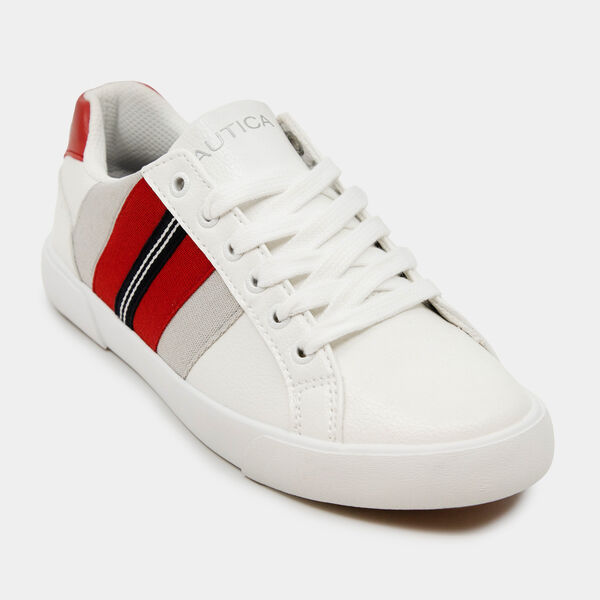 SARIAH MULTICOLOR STRIPE SNEAKERS - Nautica Red