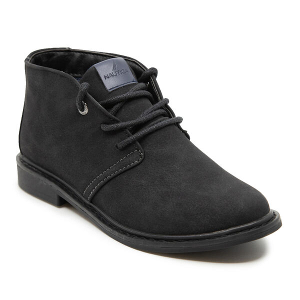 BOY'S NUBUCK CHUKKA BOOT - Black