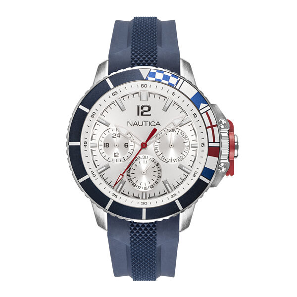 BAY WHITE DIAL SPORT WATCH - Multi
