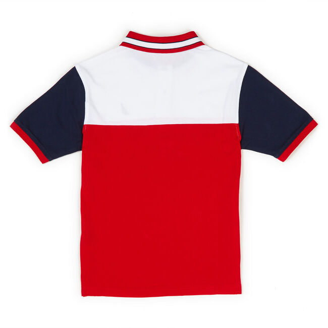 Toddler Boys' Admiralty Signal Flag Billboard Heritage Polo (2T-4T),Island Pink,large