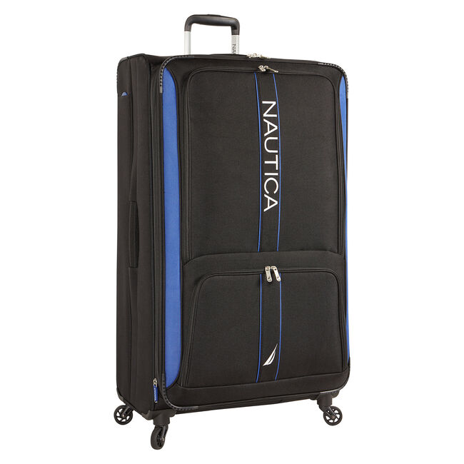 "Dodger 33"" Expandable Spinner Luggage,True Black,large"