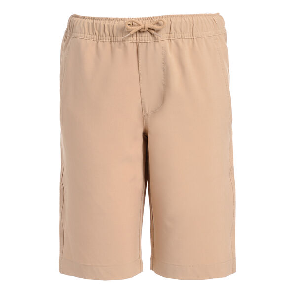 BOYS' HUSKY LOWELL JOGGER SHORT (8H-20H) - Khaki Beach