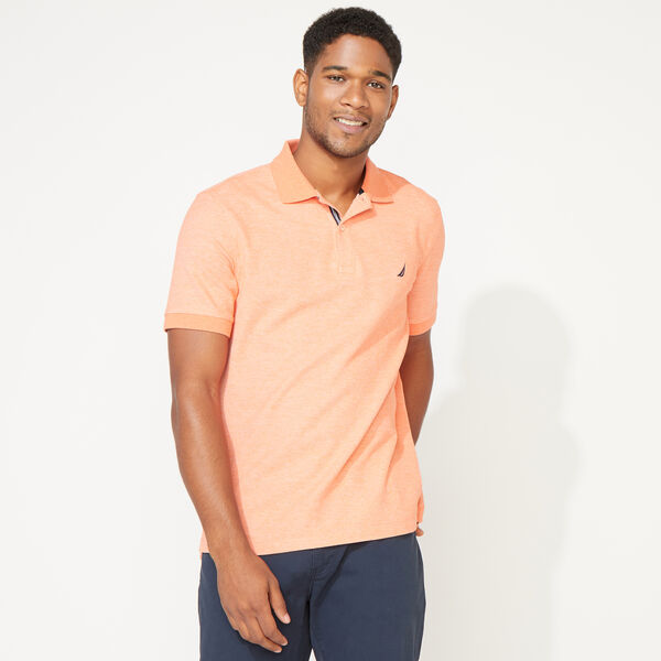 CLASSIC FIT DECK POLO - Shrimp
